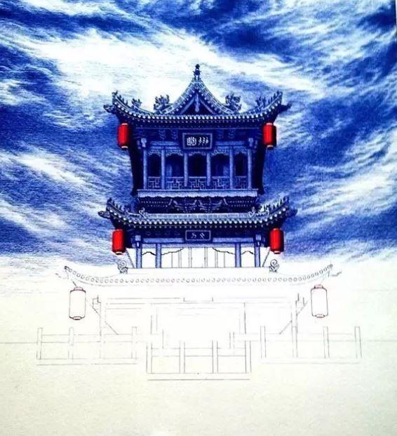 中国小伙圆珠笔手绘欣赏 ,老外们都被惊呆了!